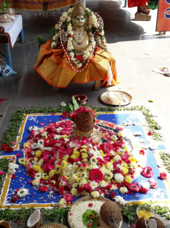 Gaja Laxmi Puja and Homam