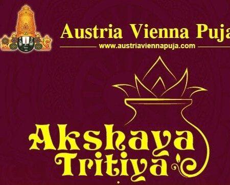 Akshaya Tritiya Puja 2021